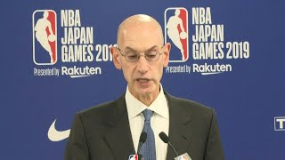 NBA supports freedom of expression: commissioner | AFP