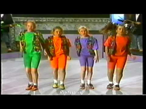 Kinderen voor Kinderen Festival 1990 - Meidengroep