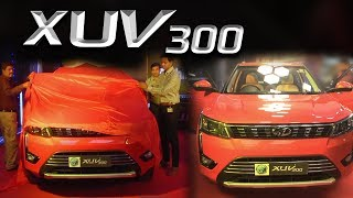 Mahindra XUV300 launch with price Rs 10.8 Lakh