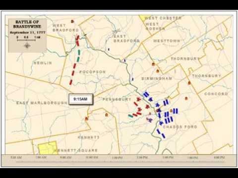 brandywine battlefield map - photo #18