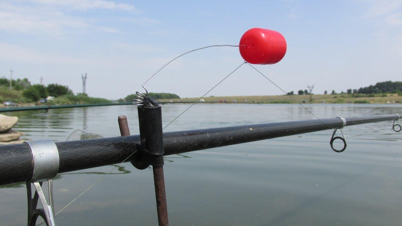 Сигнализатор для летней рыбалки своими руками 100