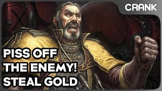 Piss Off The Enemy, Steal Gold! - Crank's StarCraft 2 Variety!