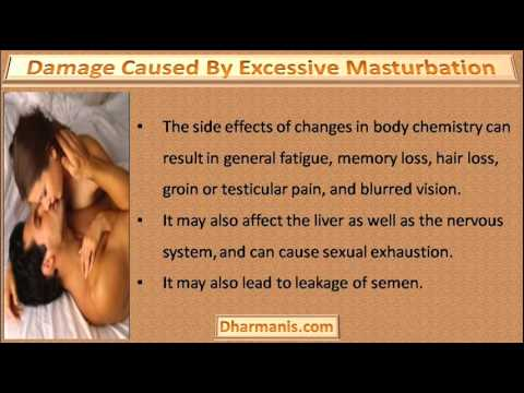 excessive orgasm effects on brain