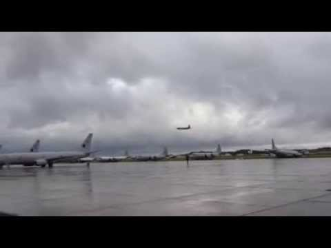 P-3C Orion Departs to Search for Malaysia Airlines flight MH370