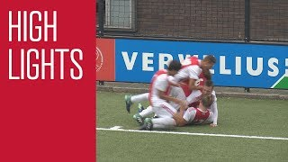 Highlights Ajax O16 - PSV O16