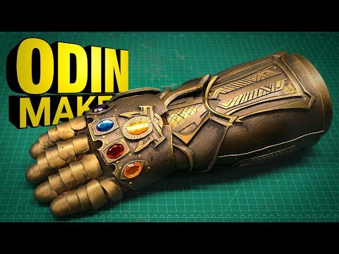 Odin Makes: The Infinity Gauntlet. from Avengers: Infinity War