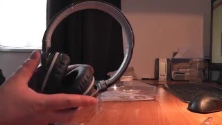 Sony mdr-zx660AP headphones unboxing