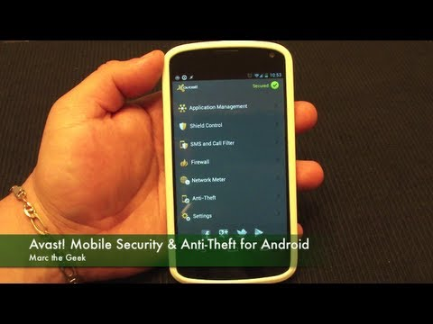 Avast! Mobile Security & Anti-Theft for Android Phones & Tablets