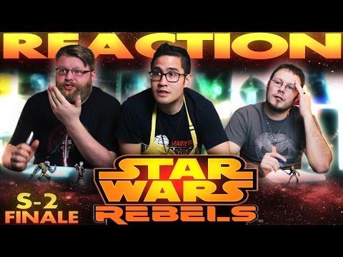 """Star Wars Rebels Season 2 Finale REACTION """"Twilight of the Apprentice"""""""