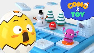 Como | Puzzle Road | Learn colors and words | Cartoon video for kids | Como Kids TV
