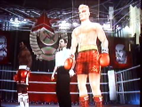 Rocky Balboa game (NGC) Apollo Creed Vs Ivan Drago