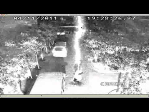 Man Struck By Lightning Twice - Fake Video Exposed & Recreated.
