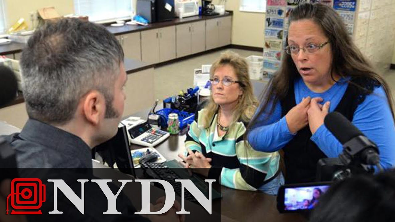 Kentucky Clerk Again Refuses to Issue Same-sex Marriage Licenses