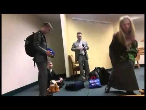 Kingdom Hall disaster demonstration