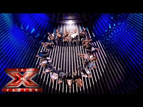 Group Performance of Taylor Swift's Shake It Off | Live Results Wk 6 | The X Factor UK 2014