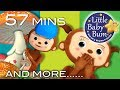 Peekaboo Song | Peeka Peeka | Plus Lots More Nursery Rhymes | 57 Mins Compilation by LittleBabyBum!