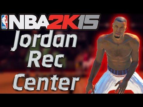 PS4 NBA 2K15 Jordan Rec Center: Legend 3 Talking Trash? Out Here Strug...