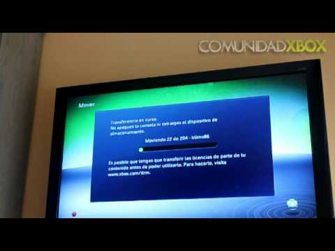 Transferencia de Datos de un disco duro a otro (Xbox 360)