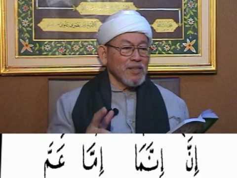 KHM. Basori Alwi - Mengajar Tajwid