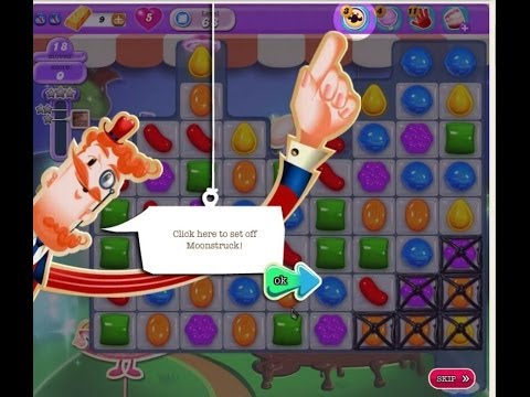 Candy Crush Saga. the NEW Moonstruck Booster