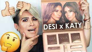 Download DESI x KATY Dose Of Colors Collection   Worth the HYPE??!   REVIEW + SWATCHES 3Gp Mp4