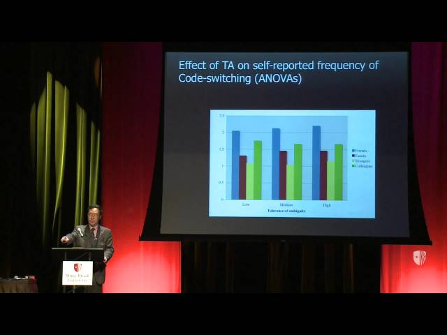 Provost Lecture: Li Wei - Multilingualism, Social Cognition and Creativity