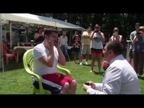 Gay Marriage Proposal/Flash Mob (4th of July 2013)