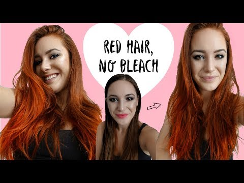 How To Dye Hair Red Without Bleach   Arctic Fox Vegan Hair Dye Review