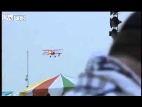 Dayton air show 2013 Pilot stunt woman killed in crash
