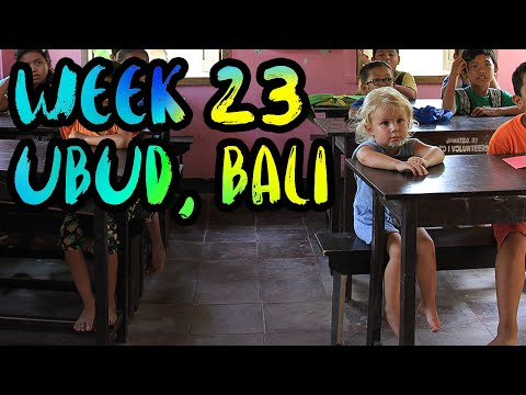 WEEK 23 : Ubud, Bali, Indonesia /// Yoga, Canyoning, Villa life, Monkey Forest, and the Orphanage