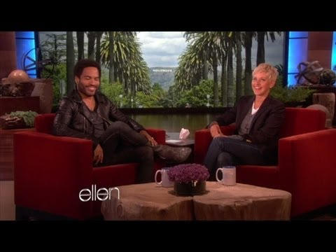 Lenny Kravitz on 'The Hunger Games'