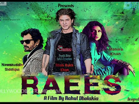 Raees Hindi Movie Official Trailer 2016 | FT Shahrukh Khan, Farhan Akhtar, Nawazuddin