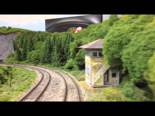 Short Line Model Railroad Club ~ iCar Video of HO Scale Layout