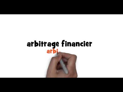 How to write arbitrage in French
