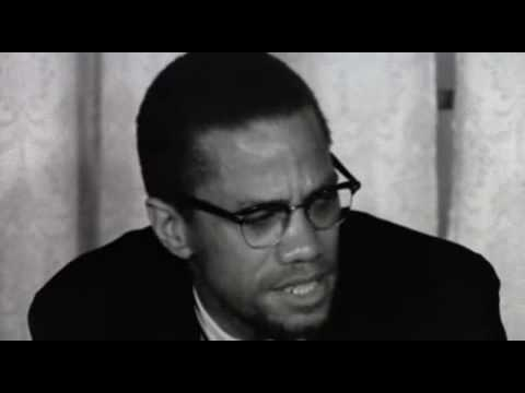 بعد عودته من الحج _ Malcolm X after return from Mecca