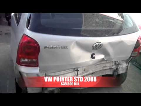Chocado VW Pointer 2008 AutoComercia