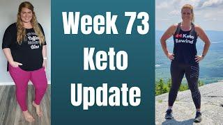 Week 73 Keto Transformation - Enjoying Free Days Within The Keto Lifestyle #ketotransformation #keto