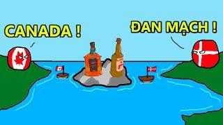 Cuộc Chiến Giành Lãnh Thổ Hài Hước Nhất Thế Giới Giữa Canada và Đan Mạch