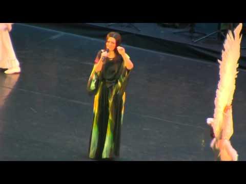 Дина Гарипова на концерте, посвященному юбилею И. Шакирова. 13.03.2015 г.