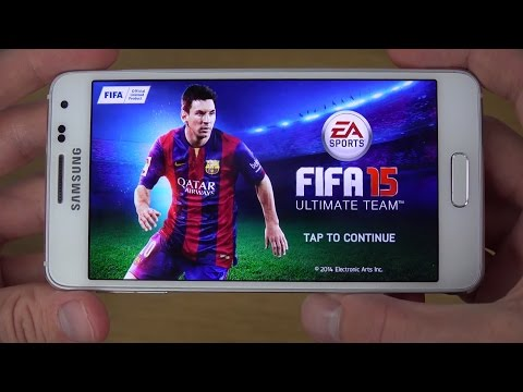 FIFA 15 Samsung Galaxy Alpha 4K Gameplay Review