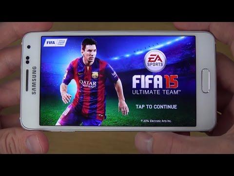 FIFA 15 Samsung Galaxy Alpha 4K Gameplay Review
