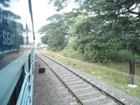 Indian Local Train Running video