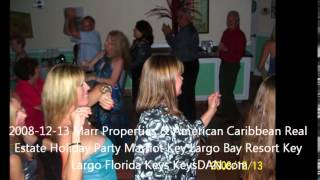 2008 12 13 Marr Properties & American Caribbean Real Estate Holiday Party Marriot Key Largo Bay Reso