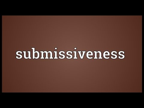 Header of submissiveness