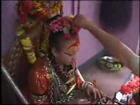 Nepal's Fascination With living Goddesses video
