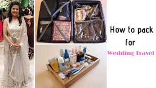Tips To Pack Suitcase For wedding Functions   Travel Packing For Indian Wedding