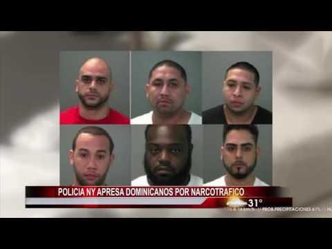 Policía NY apresan dominicanos por narcotráfico