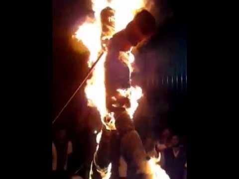 Zulkifli Nordin (EMPOWER) hindu religious insult.burn effigy...