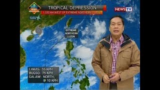 Weather update as of 1200 p.m. August 11, 2018