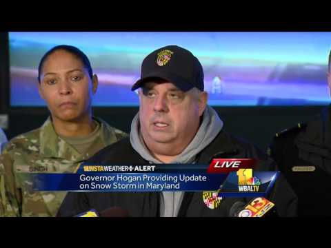 Governor: State to seek disaster relief from FEMA for snowstorm